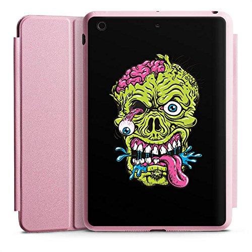 DeinDesign Apple iPad Mini 3 Smart Case rosa Hülle mit Ständer Schutzhülle Zombie Halloween (Scary Halloween Zombies)