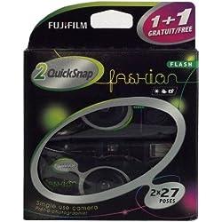 Fujifilm - Quicksnap - Appareil Photo Jetable avec Flash - Noir