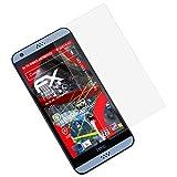 atFolix Panzerschutzfolie für HTC Desire 530/630 Panzerfolie - 3 x FX-Shock-Antireflex blendfreie stoßabsorbierende Displayschutzfolie