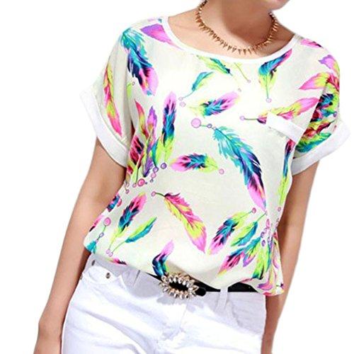 lhwy-mujeres-plumas-gasa-blusa-top-casual-manga-corta-camiseta-suelta-l