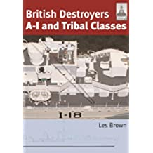 British Destroyers A-I and Tribal Classes (ShipCraft)