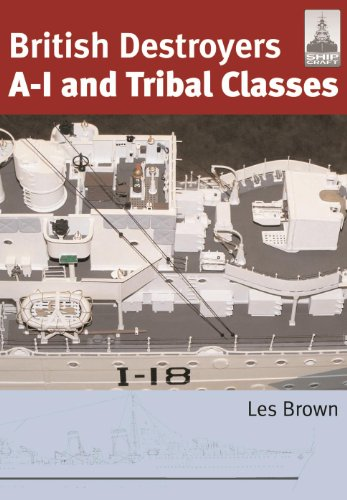 British Destroyers A-I and Tribal Classes (English Edition)