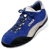 Uvex Sicherheitsschuhe Motorsport Halbschuh 9495 S1 42 Blau