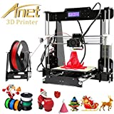 Anet A8 3D Imprimante en kit DIY Couleur Impression Imprimante 3D de Bureau Grand Taille 220 * 220 * 240mm