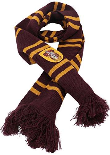 chingskostüme Kostüm Kapuzen Kap für Damen Herren Kinder Jungen Mädchen (Gryffindor Schal, 192(Lang) x 24(Breit)) (Gryffindor Kostüme)