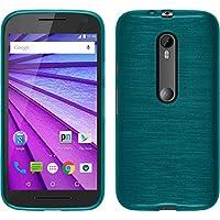 PhoneNatic Custodia Motorola Moto G 2015 3. Generation Cover blu
