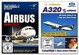 BUNDLE -- Airbus A320 / A321 - für Flight Simulator X & Prepar3D (V2) - & - DVD - 5 Tage quer durch Europa