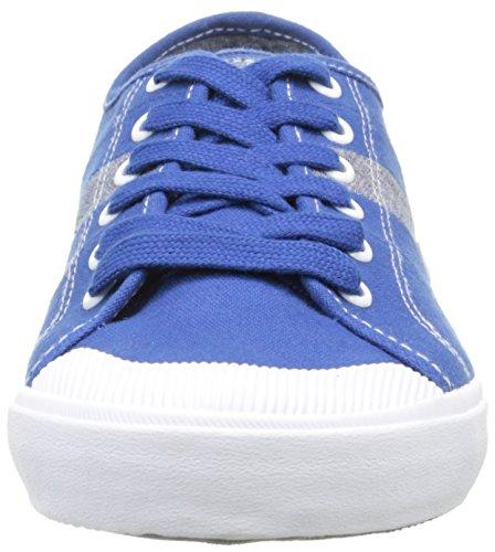 TBS Henley, Baskets Basses homme Bleu (Opale)