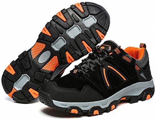 Ben Sports Chaussures de Randonnée Running Trail Sports Femme Homme E-Noir