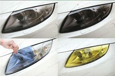 300mm x 1000mm smoked black headlight tint rear light rearlight film tail light for Car Motorbikes Motorcycles Truck bus