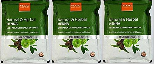 Buy Vlcc Ayurvedic Henna Hair Defense 350ml Pack Of 2 Online At