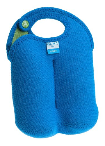 Built NY Double Thirsty Tote Lagoon Blue/Leaf Green (Discontinued by Manufacturer) by Built NY