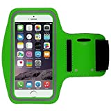 [1 Pack]Water Resistant Sports Armband CaseHQ for iPhone 7/7 Plus, 6/6S Plus (5.5-Inch)