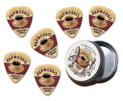 espresso-served-here-martin-wiscombe-6-x-gitarre-plektrums-picks-in-tin-vintage-retro