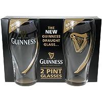 Guinness–Set di 2bicchieri, decorazione: