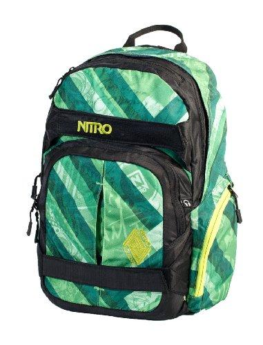 Nitro zaino Drifter, Unisex, Zaino, Rucksack Drifter, Verde, 46 x 29 x 15 cm, 27 Liter