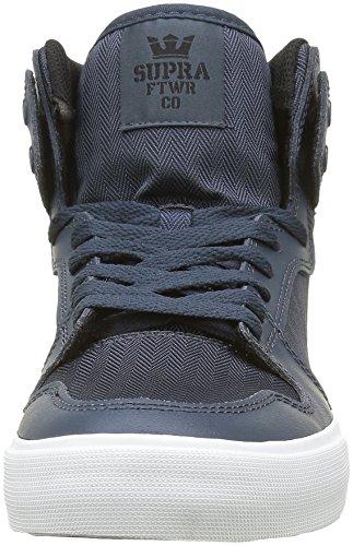 Supra Vaider, Baskets Hautes Homme Bleu (Navy/Black Wht)