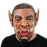World of Warcraft WOW Ogrim Ogre Masque Masque Tête en latex très haute qualité avec des ouvertures aux yeux Halloween Carnival Costume de costumes pour adultes Hommes et femmes Femmes Hommes Creepy Creep Zombie Monster Demon Horror Party Party