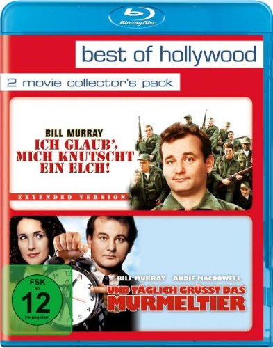 Ich glaub' mich knutscht ein Elch/Und täglich grüßt das Murmeltier - Best of Hollywood/2 Movie Collector's Pack [Blu-ray] -