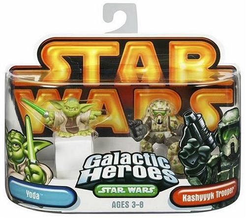 Yoda / Kashyyyk Clone Trooper Star Wars Galactic Heroes (Kashyyyk Clone Trooper)