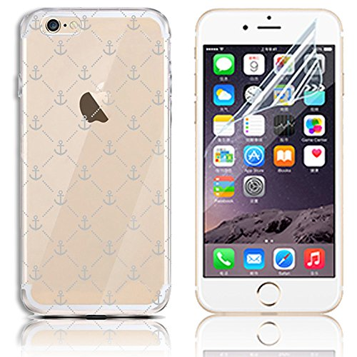iPhone 7 Silikon Hülle,iPhone 8 Hülle,Sunroyal TPU Case Schutzhülle Silikon Crystal Kirstall Clear Case Durchsichtig,Basketball Shoot Malerei Muster Transparent Weichem Silikon Schutzhülle Handy Gürte Pattern 11