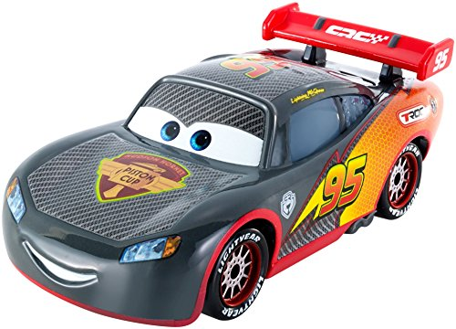 Image of Disney Cars Carbon Fiber Diecast Vehicle, Lightning McQueen by Mattel