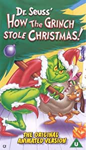 How The Grinch Stole Christmas Vhs