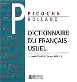 Dictionnaire du français usuel 15.000 mots utiles en 442 articles