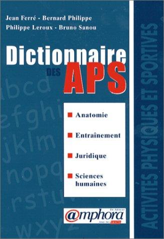 Dictionnaire des APS par J. Ferré