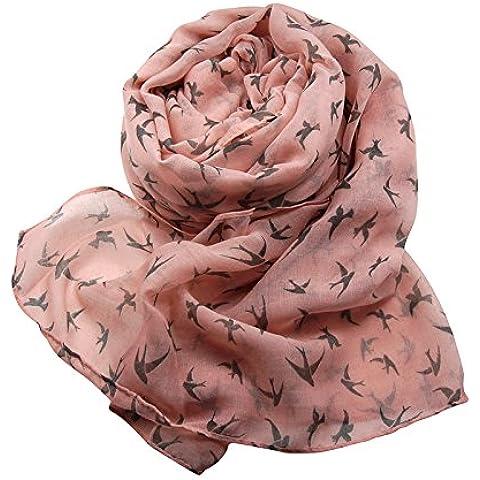 MEICHEN-Fancy sciarpa 1 telo mare donne poco swallow pattern
