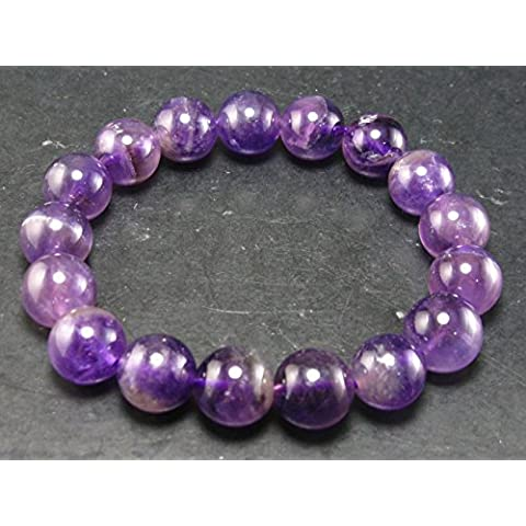 auralite Super 23ametista braccelet dal Canada–17cm–12mm perle rotonde