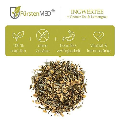 FürstenMED® Natürlicher Ingwertee aus Deutschland – Ohne Zusatzstoffe - 3