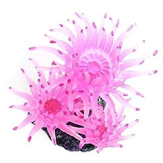 Aquarium Artificial Sea Urchin Coral Plant Water Ornament Decoration Fish Tank Plastic Fake Soft Aquarium Artificial Sea Urchin Coral Plant Water Ornament Decoration Fish Tank Plastic Fake Soft 514AYdeQ8EL