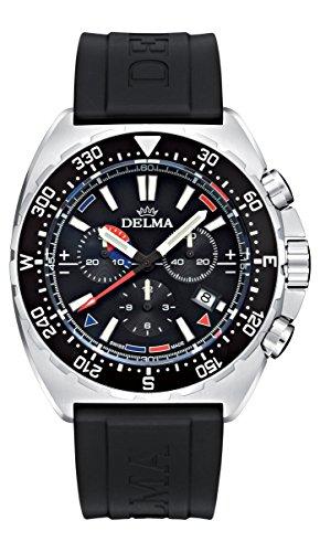 Delma Sportuhr 'OCEANMASTER' Chronograph