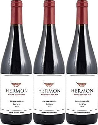 Golan Heights Winery Yarden Mount Hermon Cabernet-Sauvignon - Merlot 2015/2016 (3 x 0.75 l)