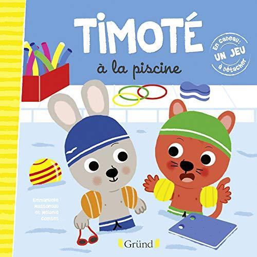 Timoté à la piscine par Emmanuelle MASSONAUD