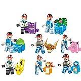 Pokemon Go 8-teiliges Geschenk Set Pikachu Figuren Mini Figuren