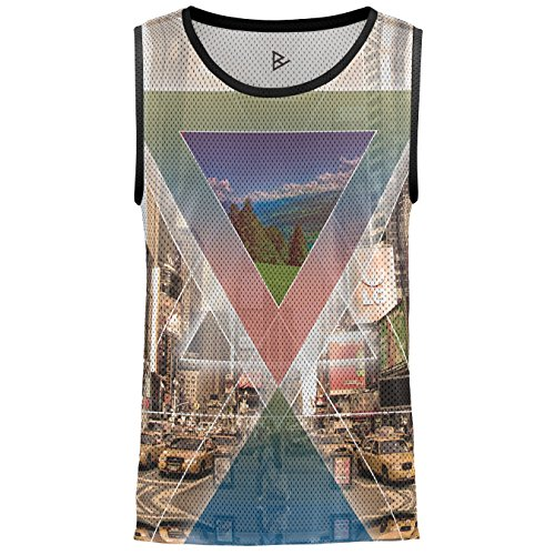 Blowhammer Tank Top Herren - Confusion is Sense (Tank-top Abstraktes)