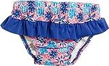 Playshoes Mädchen Schwimmwindel Badewindel Veilchen mit UV-Schutz, Mehrfarbig (LACHS 41), 74 (Herstellergröße: 74/80)