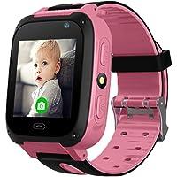 Bambini Smartwatch, B.B.PAW Orologio da Polso con Dispositivo di Localizzazione Orologio SOS Timer Orologio con…