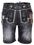 Krüger Buam Textilshort Jeans Wildling anthrazit (52, anthrazit)