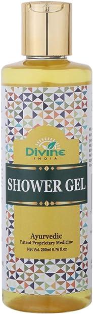 Divine India Shower Gel, 200ml