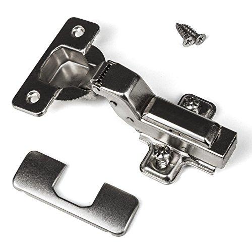 SO-TECH® Topfband Clip 110° innenliegender Anschlag Automatikscharnier mit Schließautomatik und Dämpfer