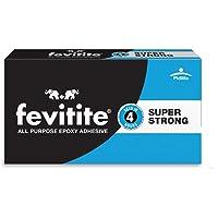 Pidilite FEVITITE Epoxy Adhesive Super Strong All Purpose Epoxy Adhesive, 450 g, (Black) (1Pc)