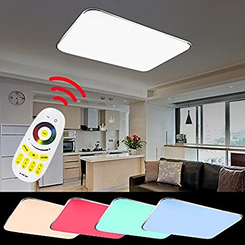 VINGO® 90W RGB LED Farbwechsel Deckenlampe Korridor Empfangsbereichen 640-8100LM Büros