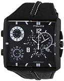 POLICE Herren-Armbanduhr Tripod Chronograph Quarz Leder P13497JSB-02B