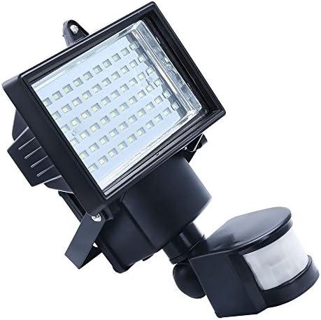 Apgstoer 60 LED solaire Pir Motion jardin Sensor sécurité Projecteur Lampe de jardin Motion Lumière extérieure a3e1e3