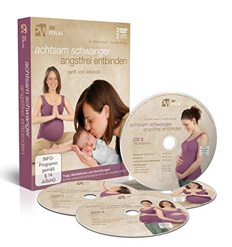 ngstfrei entbinden (Mentale und körperliche Geburtsvorbereitung) [2 DVDs & 2 CDs] ()