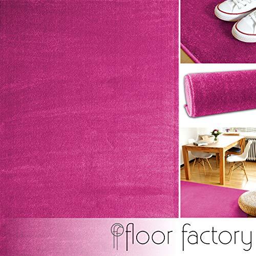 Alfombra Moderna Kolibri Rosa Fucsia 80x150cm - Alfombra
