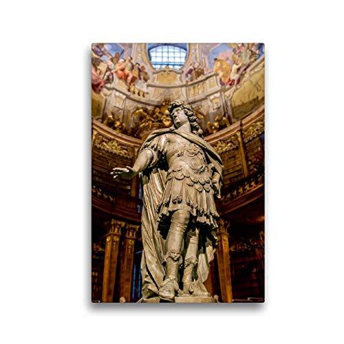 CALVENDO Tela in Tessuto di Alta qualità, 30 cm x 45 cm di Altezza, Un Motivo dal Calendario sulle Tracce dell'Habsburg, Immagine su Telaio a Cunei, su Vera Tela, Stampa su Tela Orte